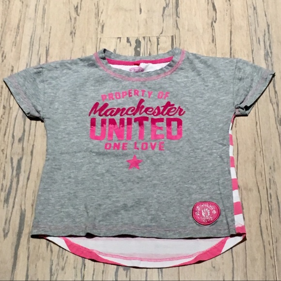 on sale 35daf 7aba2 Licensed Manchester United Girl's T Size 4/5.